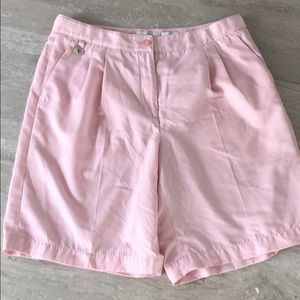 Lizgolf Kylie style pink pleated shorts